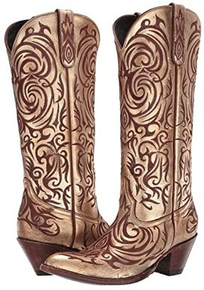 Old Gringo Madona (Gold) Cowboy Boots