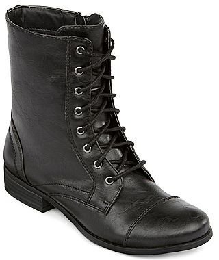 JCPenney a.n.a® Laney Lace-Up Boots