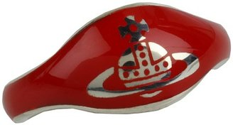 Vivienne Westwood Petite Ring (Sterling Silver/Red) - Jewelry