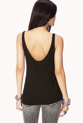 Forever 21 Intergalactic Flared Tank