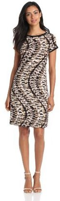 Calvin Klein Women's Printed T-Shirt Dress