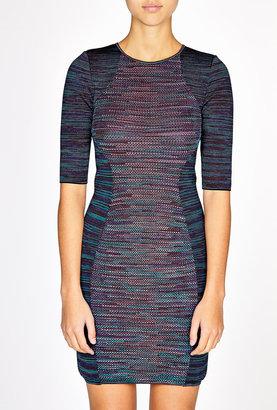 M Missoni Contrast Space Dye Illusion Dress