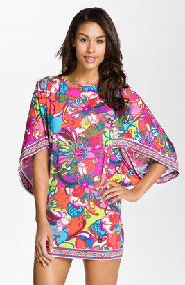 Trina Turk 'Fiji Flower' Tunic Cover-Up