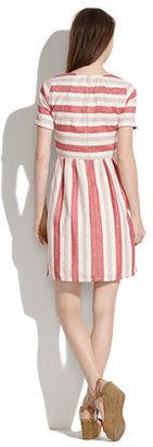Madewell Provence Stripe Dress
