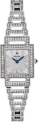 Bulova watch - women's classic stainless steel - 96l140