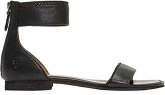 Frye Women's Carson Ankle Zip Flat Sandal
