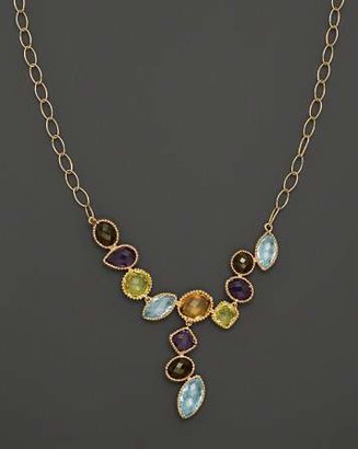 "Bloomingdale's Multi Gemstone Necklace in 14K Yellow Gold, 18"" - 100% Exclusive"