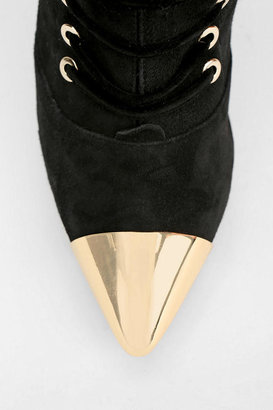 Jeffrey Campbell Lange Metal Toe Over-The-Knee Boot