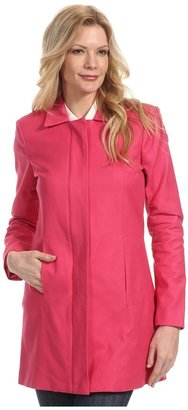 Manoukian - Woven Outerwear Car Coat (Pink Blossom) - Apparel
