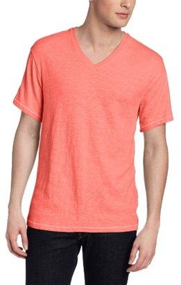 Calvin Klein Jeans Men's Short Sleeve V-Neck