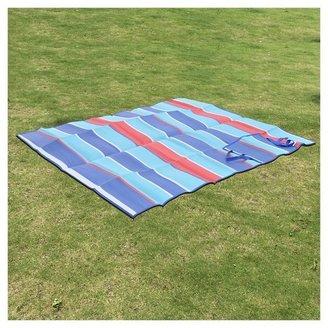 Beach Mat Multi Stripe