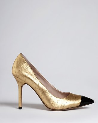 Vince Camuto Pointed Toe Cap Toe Pumps - Harty2 High Heel