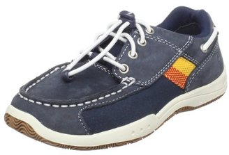 Timberland Leather and Fabric Boat Bungee Oxford (Toddler/Little Kid),Navy,5.5 M US Toddler