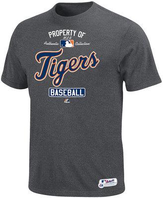 Majestic MLB Men's T-Shirt, Detriot Tigers Graphic T-Shirt