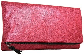 BCBGeneration Darla Foldover Clutch (Lipstick) - Bags and Luggage