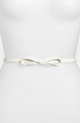 Lodis Skinny Bow Belt