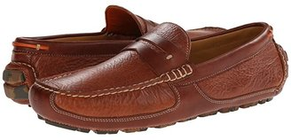 Trask Derek (Saddle Tan American Bison) Men's Slip on Shoes