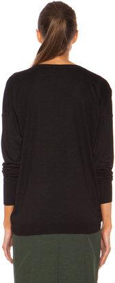 Marni Washed V Neck Cashmere-Blend Sweater