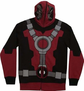 Marvel Men's Mr Pool Hooded Costume Fleece
