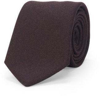 Twill Striped Wool Tie $98.50 thestylecure.com
