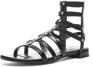 Stuart Weitzman Nappa Leather Caesar Sandals