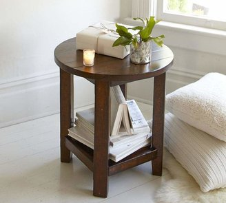 Pottery Barn Benchwright Round End Table