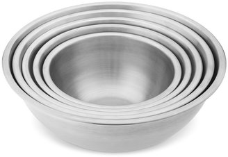 Williams-Sonoma Williams Sonoma Stainless-Steel Restaurant Mixing Bowls, Set of 5