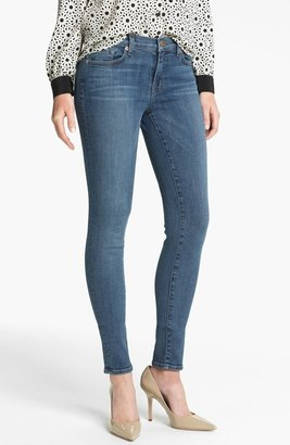 J Brand '620' Mid-Rise Skinny Jeans (Bayside)