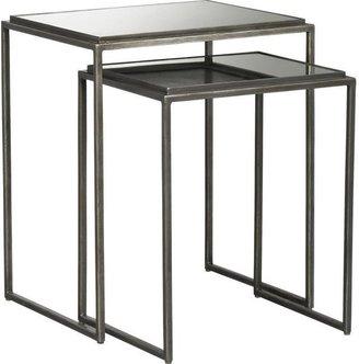 Crate & Barrel Eva Nesting Tables Set of 2