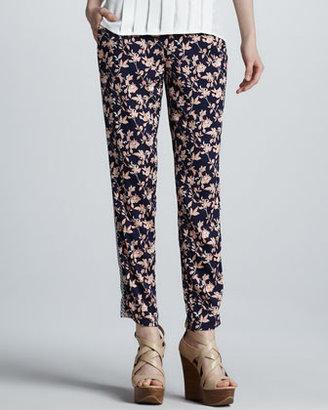 Joie Olaya Floral-Print Pants