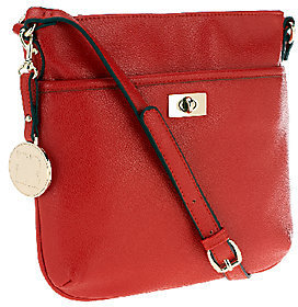 Liz Claiborne New York Zip Top Crossbody with Turnlock $47.50 thestylecure.com