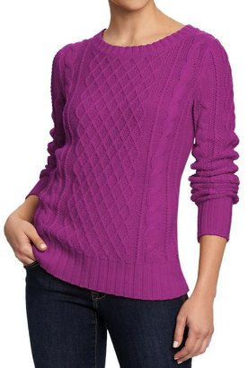 Old Navy Women's Chunky Cable-Knit Sweaters