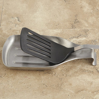 Chefs Stainless-Steel Spatula Spoon Rest