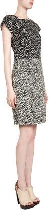 Derek Lam Ocelot Print Dress
