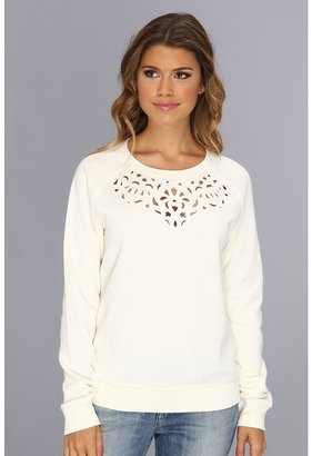Juicy Couture Embellished Cut Out Pullover