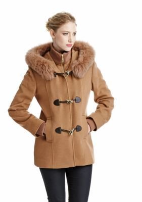George Simonton Wool and Cashmere Toggle-Front Coat