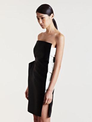 Lanvin Women's Strapless Silk Dress