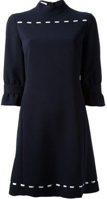Moschino knit detail shift dress