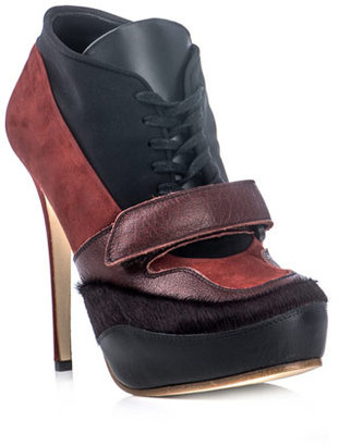 Acne Ace lace-up high-heel shoes