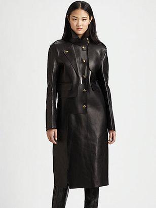 Alexander Wang Leather Trenchcoat