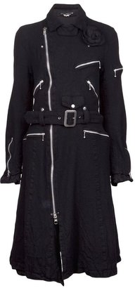 Comme des Garcons Junya Watanabe Vintage motorcycle trench coat