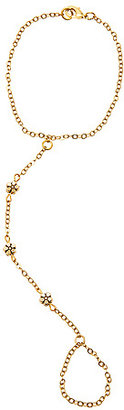 Hardcouture The Daisy Chain Hand Chain in Gold