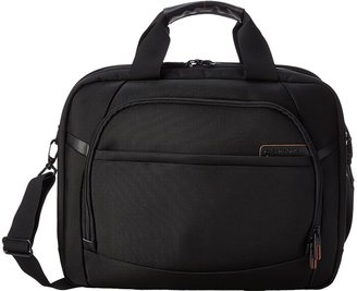 Samsonite PRO 4 DLX 2 Gusseted PFT/TSA Briefcase $139.99 thestylecure.com