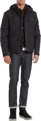 Spiewak Quilted Jacket With Hood