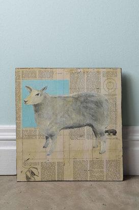 Anthropologie Sheep By Tom Judd
