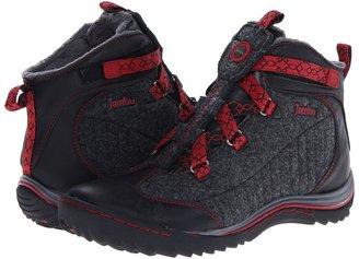 Jambu Macau (Black/Charcoal/Red) - Footwear