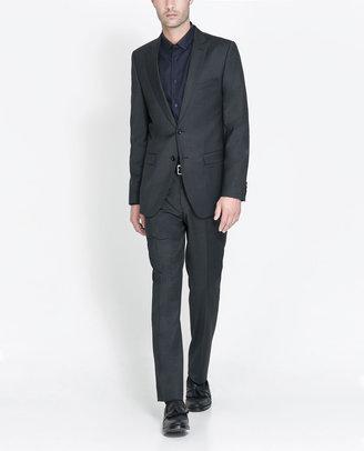 Zara Classic Grey Basic Suit