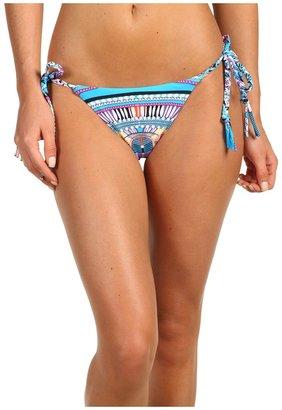Mara Hoffman Braided Tie-Side Bottom (Electric Casino Stone) - Apparel
