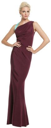 Sophie Theallet Sea Grape Contrast Gown