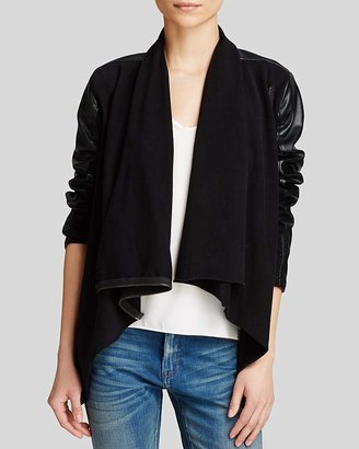 BLANKNYC Jacket - Faux Leather Asymmetric Zip $98 thestylecure.com